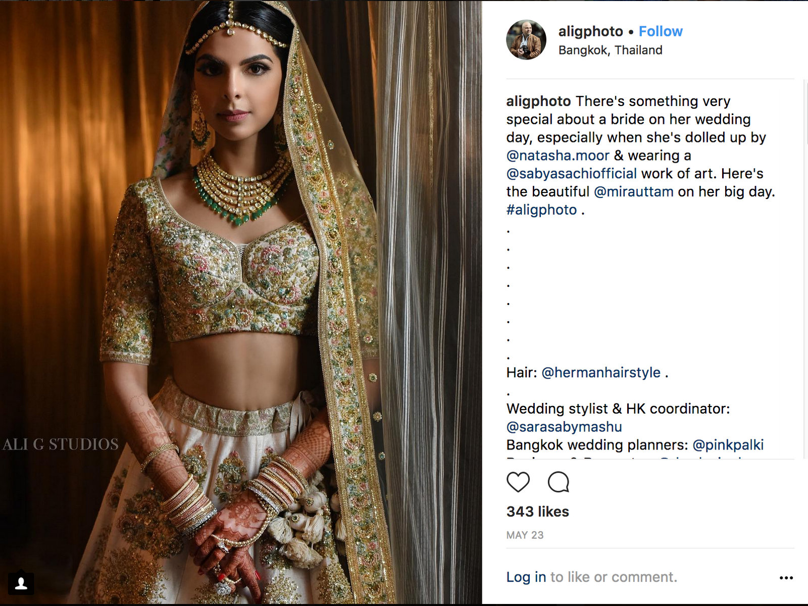 How to find a wedding photographer on Instagram