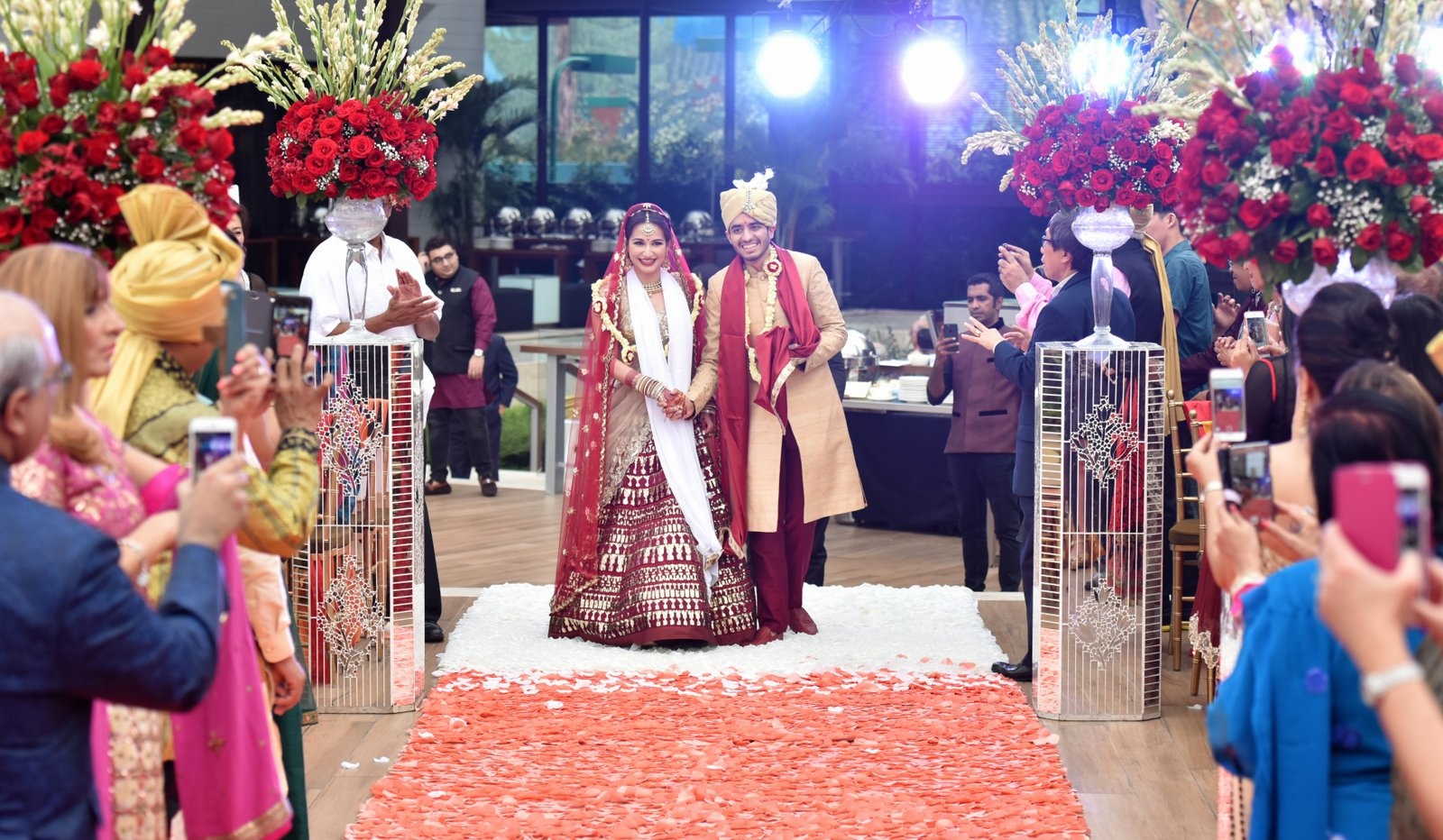 Indian wedding in Jakarta, Indonesia